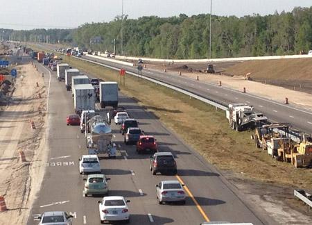 Many Problems with I-75/SR 56 Interchange